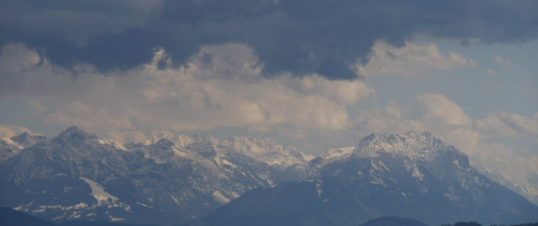 Bodensee und Berge