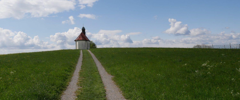 Blick auf unsere Kapelle